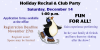 2019 Holiday Ice Recital & Club Party - December 14th
