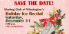 Save The Date - Holiday Ice Recital