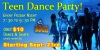 Friday Night Teen Dance Party - Starting Sept. 23rd
