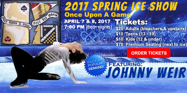 2017 Spring Ice Show - Once Upon A Game @ Skating Club of Wilmington | Wilmington | Delaware | United States